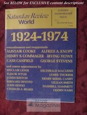 RARE Saturday Review August 10 1974 50th HENRY STEELE COMMAGER ALISTAIR COOKE