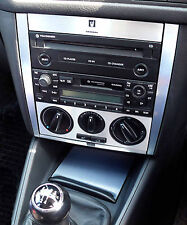 VW Golf Mk4 Brushed Ali Radio Console and Ashtray Set 03