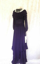 New MEDICI Purple Size 10 12 Mother of the Bride Ladies Designer Wedding Outfit