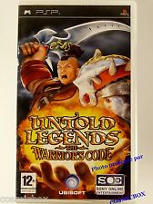 UNTOLD LEGENDS the WARRIOR'S CODE jeu video pour console Sony PSP hack'n slash