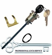 Chevy Malibu Wagon 73-77 Trunk Boot Rear Key Lock Cylinder Tumbler 2 Keys