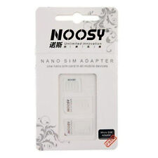 Nano SIM to Micro SIM & NanoSIM to SIM Card Adapter for iPhone 5 4S 3 Adapters
