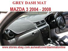 DASH MAT, DASHMAT, DASHBOARD COVER  FIT MAZDA 3 2004-2008, GREY