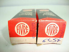 2 X 6CS7 FIVRE NOS/NIB TUBES, MATCHED PAIR