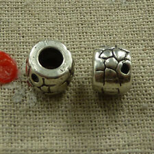 free ship 68 pieces tibetan silver nice spacer beads 10x8mm #2675