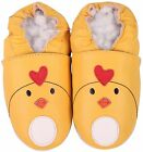 shoeszoo chicky yellow 3-4y S soft sole leather toddler shoes