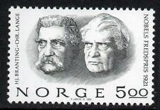 NORWAY MNH 1981 Nobel peace prize Winners 1921