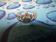 Stainless Steel Promise Friendship Ring Size 7 1/2 Women's EUC