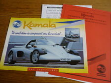 DJ SPORTSCARS DAX KAMALA CORTINA BASED REPLICA KIT CAR 'BROCHURE' PORTFOLIO 1998