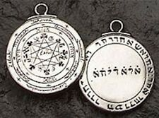 SOLOMON Seal & Pentacle MAGIC Talisman Pendant Necklace Sacred Solomon Amulet