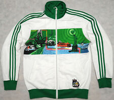 ADIDAS ADICOLOR G6 - NEW YORK STATEN ISLAND - rare sweatshirt TRACK TOP - XL