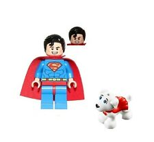 LEGO SUPER HEROES DC COMICS SUPERMAN AND KRYPTO THE SUPER DOG