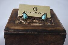 BNWT SAMANTHA WILLS Mini Bardot Stud Earrings Turquoise Stone
