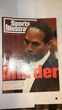 June 17, 1994 Sports Illustrated with O.J. Simpson on cover, The Charge: Murder