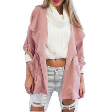 Hot Women Warm Fashion Hooded Long Coat Jacket Trench Windbreaker Parka Outwear