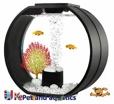Fish R FUN, Deco Mini Peces Tanque 10L Negro