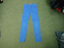 "Rabbit & Cross Bones Slim Jeans W27"" L27"" Faded Bright Blue Boys 11/12 Yrs Jeans"
