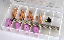 17 18 26 Tig Welding Torch Parts Kit Tungsten Collets