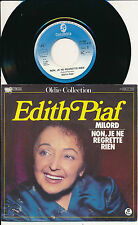 "EDITH PIAF 45 TOUR 7"" GERMANY MILORS (DE GEORGES MOUSTAKI)"