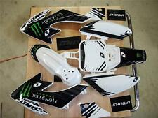 honda crf 50 graphics 04-16 graphics only kit -12 White