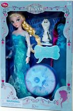 Disney Store Large Frozen Elsa Feature Doll Singing Snowflake Coronation Dress