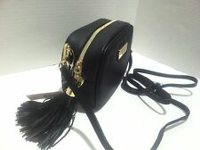 Victoria's Secret Black Crossbody Bag Clutch With Strap, New