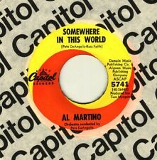 Al Martino Somewhere in this world  - GUARANTEED ORIGINAL - NEW OLD STOCK