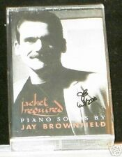 Jacket Required Piano Solos By Jay Brownfield autographed #'d CASSETTE TAPE NEW!