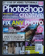 FIX ANY PHOTO Photoshop Creative No. 87 With LOADED CD! PHOTOSHOP FOR BEGINNERS!