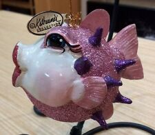 Katherine's Collection Kissing Puffer Fish Ornament - nwt