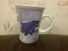 EEYORE MUG 2006 USED 10CM DIAMETER X 11.5CM HIGH 3D DESIGN FROM WINNIE THE POOH