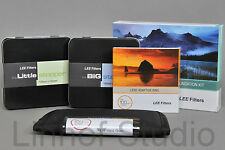 LEE Filters 100mm Kit 0.6ND Grad Hard,Big Stopper, Little Stopper, 82 WA Adapter