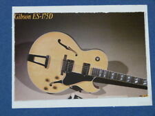 aac handmade greetings / birthday card GIBSON ES-175D