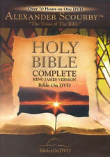 KJV Bible DVD AUDIO (2010) Complete Old & New Testament