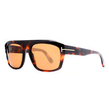 Tom Ford Conrad TF 470 56E Dark Havana Brown Men's Wayfarer Sunglasses