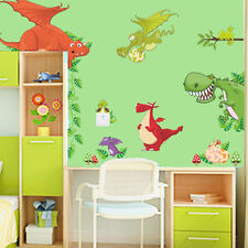 Animals Dinosaur Dragon Vinyl Wall Sticker Decals Kids Nursery Room Decor P6