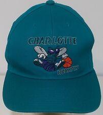 Charlotte Hornets Vintage VTG 90s G-Cap Teal Logo Mens Snapback Hat