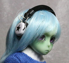 BJD Doll Dollfie Soundplay 1/8 Scale Tiny Lati Yellow Nendroid Headphones White