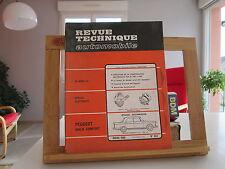 REVUE TECHNIQUE AUTOMOBILE N°263 MARS 1968 BE/TBE PEUGEOT 404