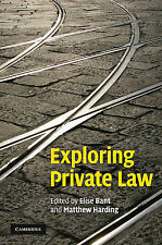 Exploring Private Law, , Very Good condition, Book