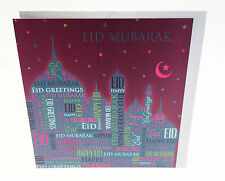 Eid Mubarak Card Happy Eid Muslim Islamic Greeting Cards