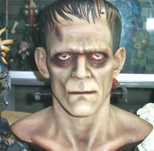 """15""""Frankenstein Horror Classic Movie Resin Bust with eyes 1/1"""