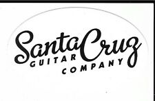 Santa Cruz Guitar Company Sticker / Decal