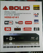 FREE TO AIR /DVS2 / MPEG4/ SOLID NEW DIGITAL I.T. BOX WITH SATELLITE CARD
