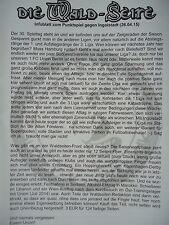 Infoblatt Die Wald - Seite 2014/15 Union Berlin - FC Ingolstadt