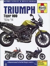 HAYNES SERVICE REPAIR MANUAL TRIUMPH TIGER 800 800XC XC 2010-2014 2011 2012 2013