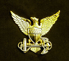 US COAST GUARD OFFICER GARRISON CAP BADGE