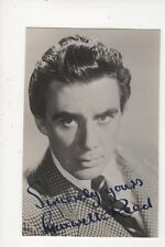 Maxwell Reed Actor Vintage Plain Back Photo Card 486a