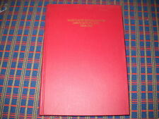 History Maryland Md. Horse Shows Association Book 1936-1960 Pony Printed in 1984
