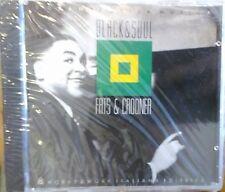 CD - I GRANDI DELLA MUSICA BLACK & SOUL - FATS & CROONER